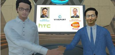HTC VIVEPORT PARTNERS WITH BANDAI NAMCO PICTURES TO BRING ITS FAMOUS ANIME TO LIFE IN VR