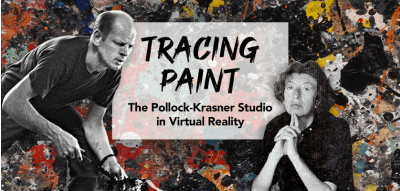When Art Comes a-Knocking: Enjoy Pollock's All-Over Paintings in VR