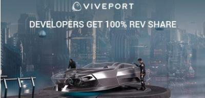 Developers Get 100% Revenue Share on VIVEPORT for the 2020 Holidays