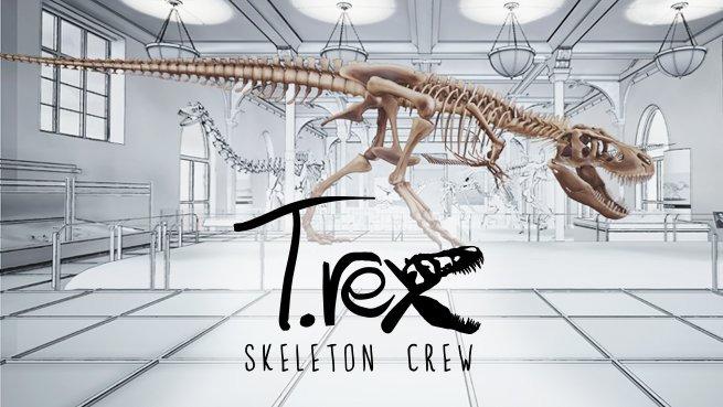 American Museum of Natural History's T. rex: Skeleton Crew