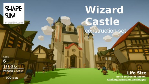 ShapeSim: Wizard Castle Construction Set