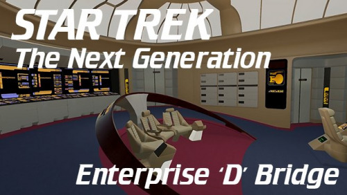 Enterprise D Bridge