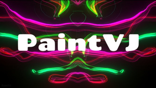 PaintVJ, a psychedelic experience to create psychedelic art