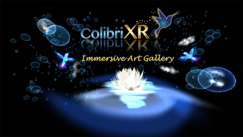 Colibri XR Immersive Art Gallery