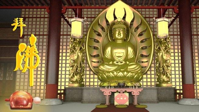 Worship Budda