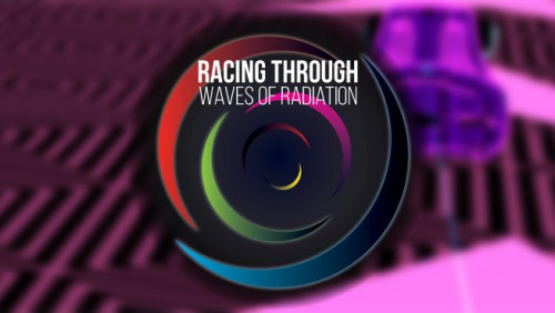 Racing Through Waves of Radiation