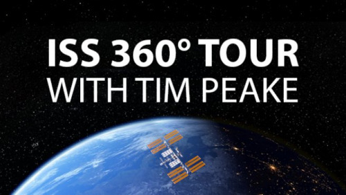 ISS 360° TOUR WITH TIM PEAKE