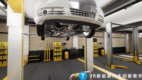 Automobile repair simulation