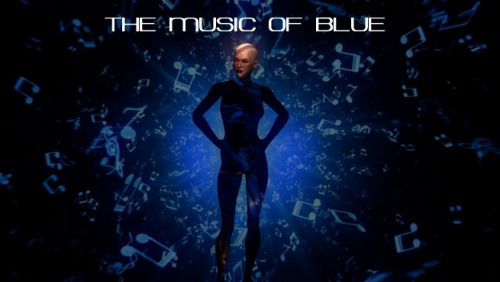 The Blue of Music