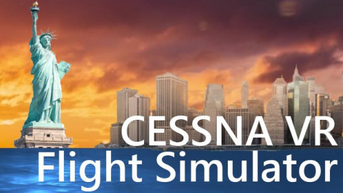VR Flight Simulator New York - Cessna