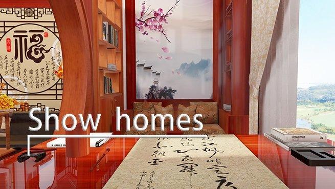 Show homes