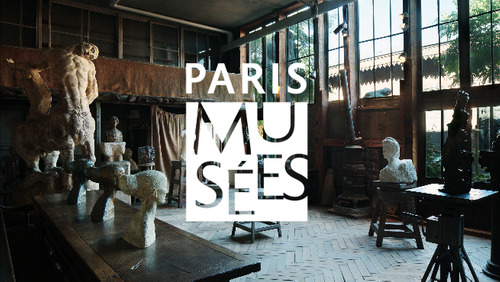 L'atelier d'Antoine Bourdelle