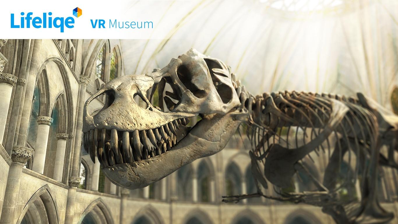 Lifeliqe VR Museum Demo