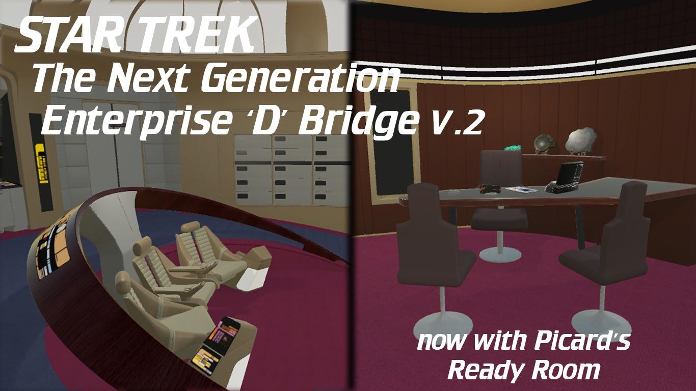 Enterprise D Bridge v2