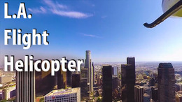 VR Los Angeles Helicopter Flight