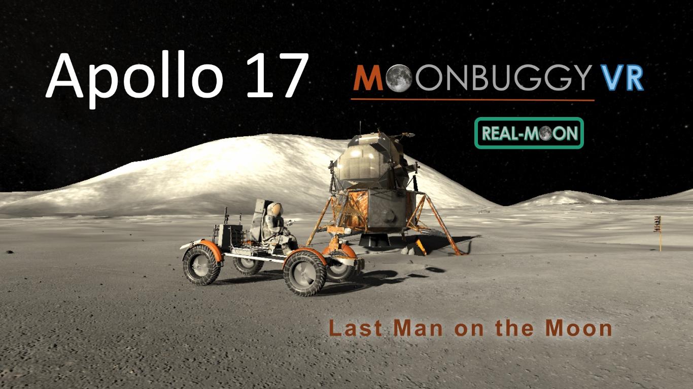 Apollo 17 - Moonbuggy VR