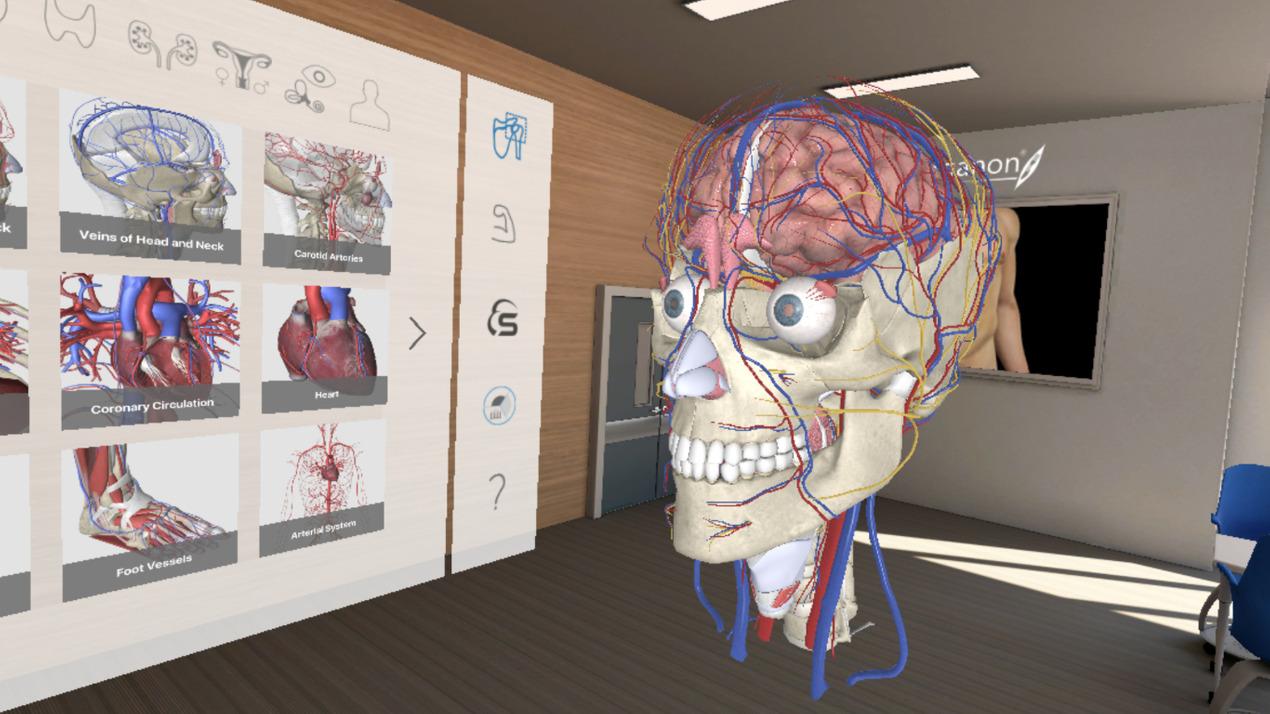 3D Organon VR Anatomy   Enterprise